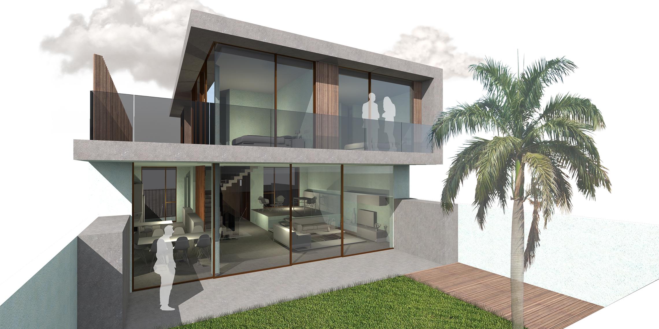 vivienda unifamiliar en nueva almeria en ejecucion | J2 arquitectos
